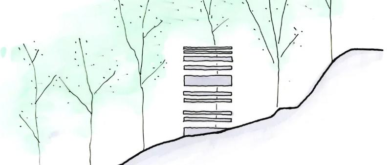 arquitectura, arquitecto, diseño, design, Grid_FPV, Makoto Takei + Chie Nabeshima Architects, TNA, Tokio, Japón, vivienda, casa, vacaciones, retiro, fin de semana, bborque, montaña