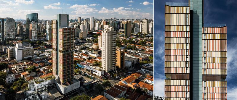 Arquitectura y Empresa, arquitecto, diseño, design, Brasil, Torre Itaim, B720 Fermín Vázquez Arquitectos, torre de viviendas, apartamentos, edificio residencial, edificio de viviendas, São Paulo, fachada ventilada, CTBUH Awards 2019