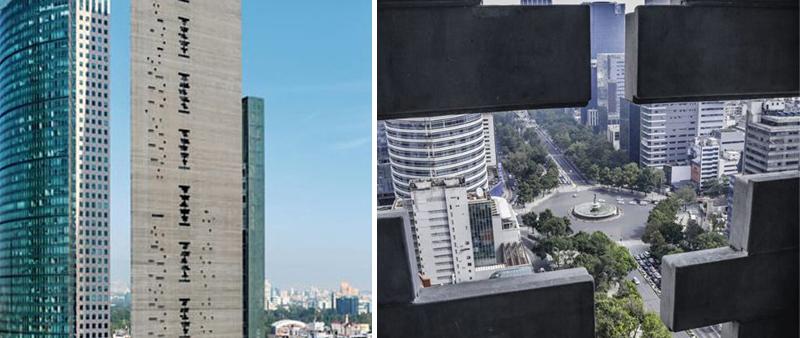 arquitectura, arquitecto, diseño, diseñado, design, Benjamín Romano, rascacielos, torre reforma, México, Ciudad de México, International Highrise Award, Moritz Bernoully, Alfonso Merchad