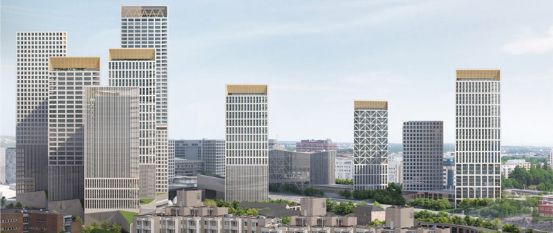 arquitectura, arquitecto, diseño, design, Lahdelma & Mahlamäki Architects, Helsinki, Trigoni, torre residencial, hotel, multifuncional, polivalente