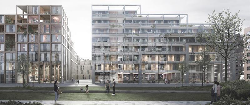 arquitectura, arquitecto, diseño, design, Dinamarca, Europa, Copenhague, UN17 Village, ONU, sostenible, sostenibilidad, reciclaje, materiales reciclados, complejo residencial, viviendas, arquitectura residencial, Årstiderne Arkitekter, Lendager Group, TMRW