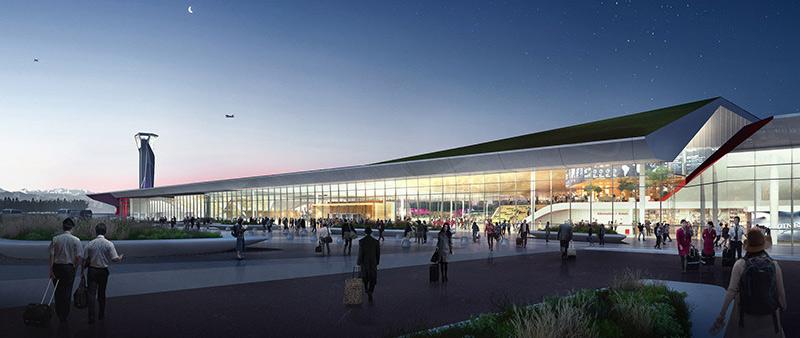 arquitectura, arquitecto, diseño, design, UNStudio, Georgia, Aeropuerto Internacional Kutaisi, ampliación, extensión
