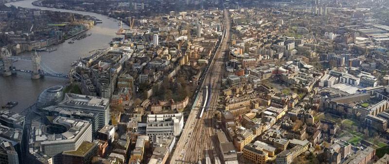 arquitectura, arquitecto, diseño, design, urbanismo, Londres, nueva construcción, WSP, líneas ferroviarias