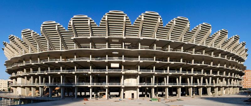 arquitectura, arquitecto, diseño, design, estadio, futbol, Valencia, equipo de futbol, Valencia CF, Fenwick Iribarren Architects, edificación deportiva, deporte, arquitectura deportiva