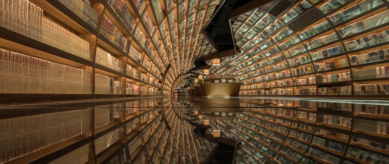 arquitectura, arquitecto, diseño, design, Shao Feng, XL-Muse, librería, tienda, negocio, Yangzhou Zhongshuge, China, Zhen Yuan