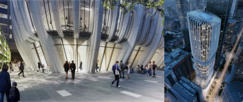 arquitectura, arquitecto, diseño, design, Zaha Hadid Architects, Mandarin Oriental Hotel, torre, Melbourne, Australia, rascacielos, Patrik Schumacher, 2023, proyecto