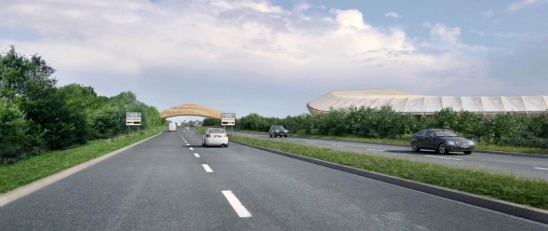 arquitectura, arquitecto, diseño, design, Zaha Hadid Architects, estadio de madera, proyecto, parque tecnológico, parque ecológico, ecología, tecnología, sostenibilidad, sostenible