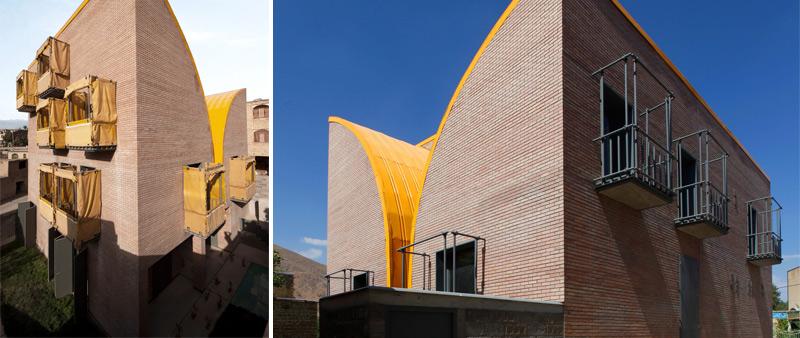 arquitectura, arquitecto, arquitectura y empresa, diseño, design, residencial, casa, vivienda, complejo viviendas, Irán, niñas huérfanas, ZAV Architects