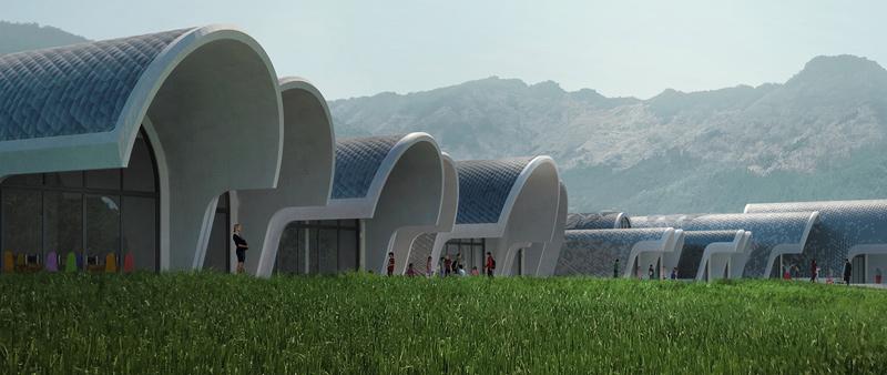 arquitectura, arquitecto, design, diseñador, diseño, Zaha Hadid Architects, China, escuela, colegio, arquitectura educativa, VA,  Nanchang, Escuela de Primaria Lushan