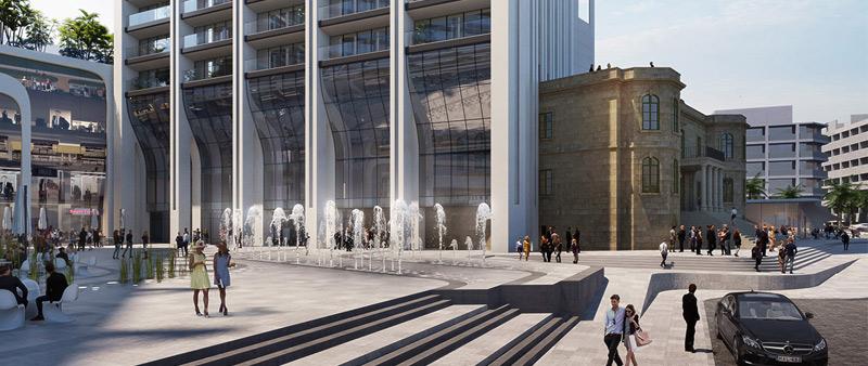 arquitectura, arquitecto, diseño, design, diseñador, arquitecta, Zaha Hadid Architects, ZHA, torre, Malta, Mercury Tower, Mercury House