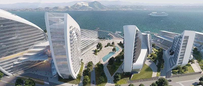 arquitectura, arquitecto, diseño, design, Zaha Hadid Architects, urbanismo, ciudad, puerto, diseño de repetición, funcional, espacios al aire libre, conexión, Arquitectura y Empresa, ZHA