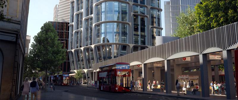 arquitectura, arquitecto, arquitectura y empresa, Zaha Hadid Architects, torre, Londres, edificio residencial, Torres Vauxhall Cross Island, Slashcube