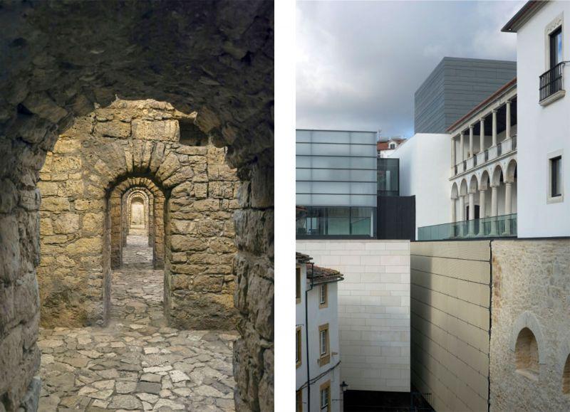 arquitectura y empresa museo gonçalo byrne criptopórtico y calle