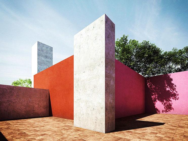 Luis barragan en nombre de la luz arquitectura for Jardin 17 luis barragan