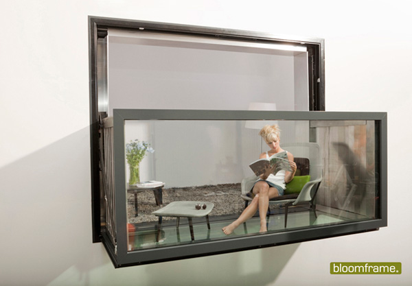 qu prefieres hoy ventana o balc n bloomframe. Black Bedroom Furniture Sets. Home Design Ideas