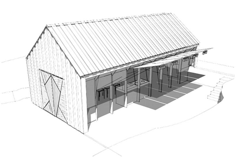 Arquitectura_barco casa TYIN tegnestue _PERSPECTIVA DIBUJO
