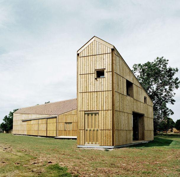 Casa-Granja en Calvados, por Jean-Christophe Quinton-Arquitectura y Empresa