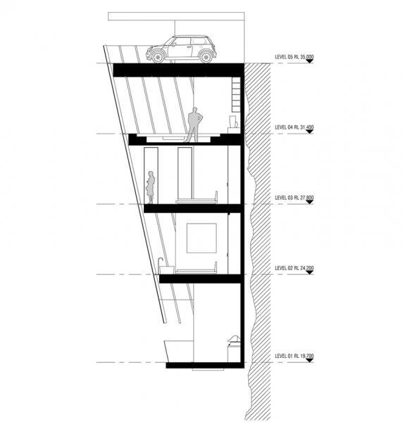Modscape, Cliff house, casa acantilado, Australia, Vitoria, Oceano Pacifico, Modular, Prefabricado,