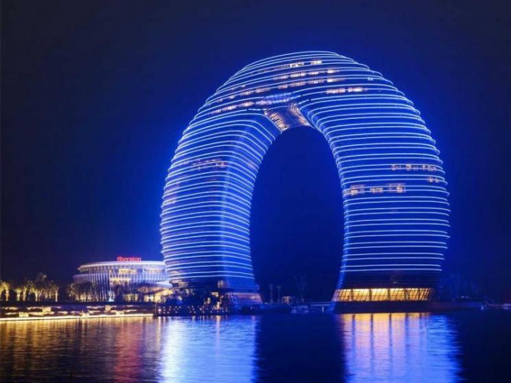 China, Xi Jinping, Beijing, weird building, rascacielo, edificio raro, Zhou Qi, Jørn Utzon, Frank Gehry, OMA, Zaha Hadid, AM Proyecto, Varch, MAD