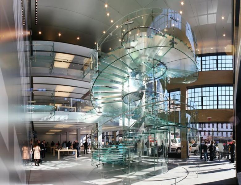 las escaleras construidas enteramente en vidrio estructural destacan por sus modernos e ingrvidos diseo son una manera ideal para los with escalera de