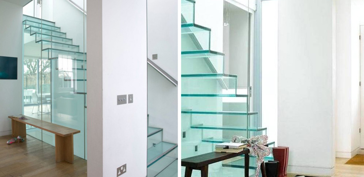 Escaleras de v rtigo escaleras de cristal arquitectura - Escaleras para viviendas ...