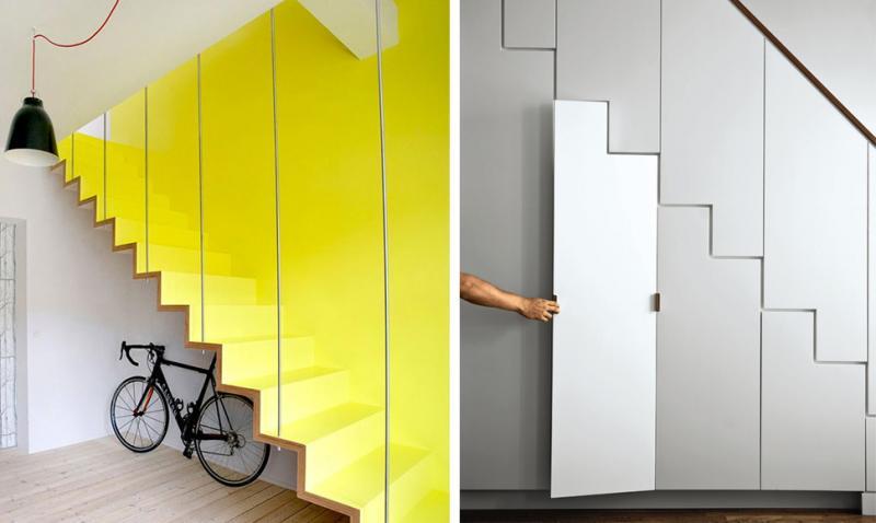 Las escaleras m s originales e innovadoras arquitectura for Escaleras de salon