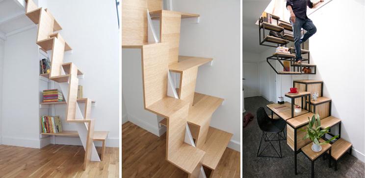 Las escaleras m s originales e innovadoras arquitectura for Formas de escaleras