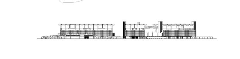 Arquitectura _la arinconada_ Fachada dibujo