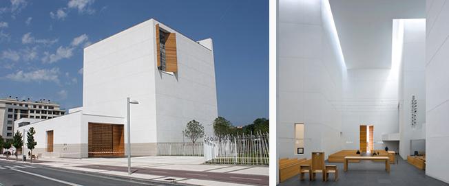 Hormigón auto limpiante, fachadas, Richard Meier, Rafael Moneo, Luigi Cassar
