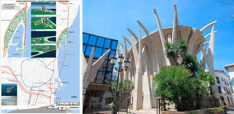 Claudio Gómez Perretta, ingeniero camino, urbanismo, Valencia, plan sur, riada, acceso norte