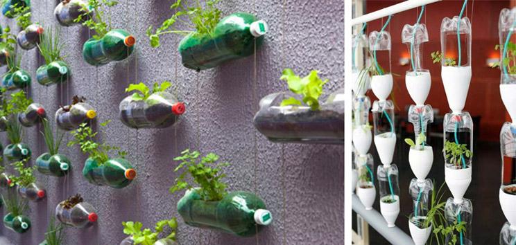 Tu propio jard n vertical en casa arquitectura for Sistema de riego jardin vertical