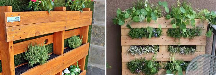 Tu propio jard n vertical en casa arquitectura for Como se hace un jardin vertical