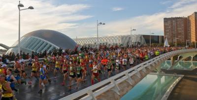 Maratón, Valencia, Calatrava, Ferrer Obanos, Miguel Colomina, Juan Añon, Calle de la Reina, Parque de Viveros