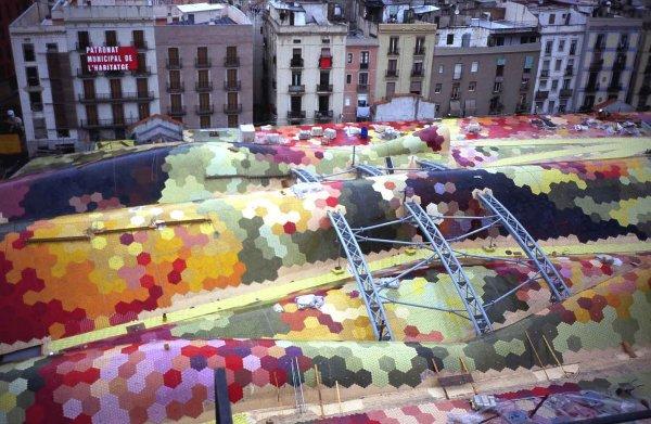 Mercado Santa Caterina EMBT Barcelona Miralles Tagliabue