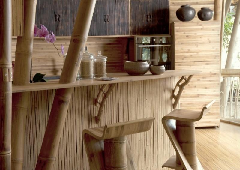Arquitectura sostenible bamb elora hardy ibuku green for Barras de bar rusticas para jardin