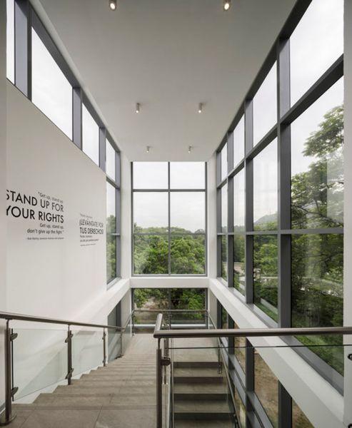 Museo Libertad _Derechos humanos_ recorrido descendente