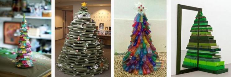 Árbol Navidad, reciclar, ecología