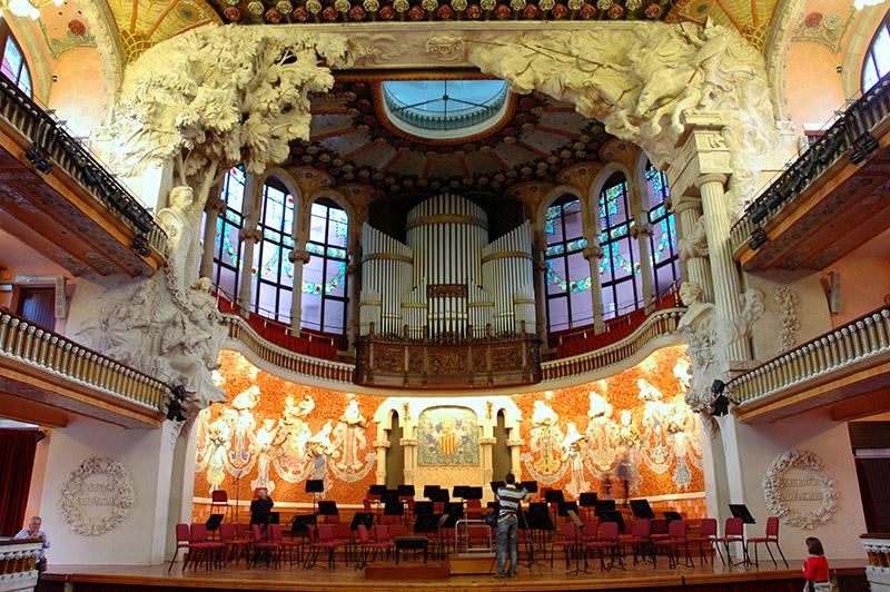 Palau de la m sica catalana por dom nech i montaner for House music wikipedia
