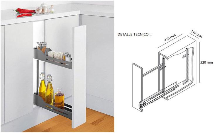Accesorios de cocina peka hbt arquitectura for Interior de muebles de cocina