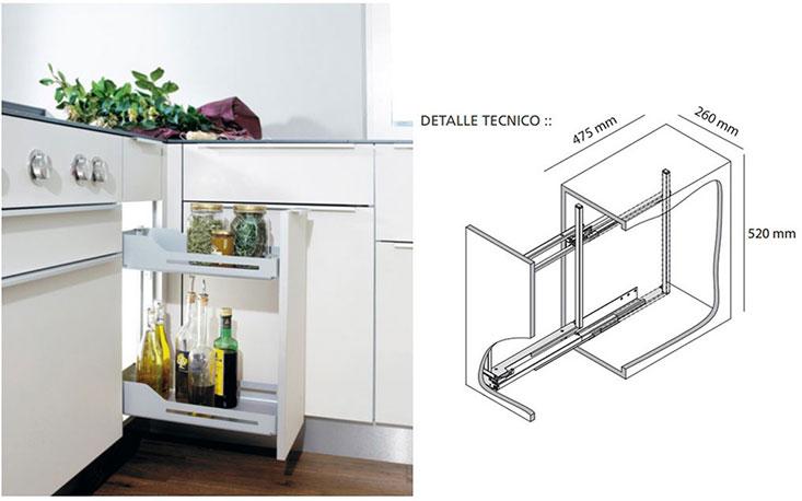 Accesorios de cocina peka hbt arquitectura for Accesorios para organizar cocina