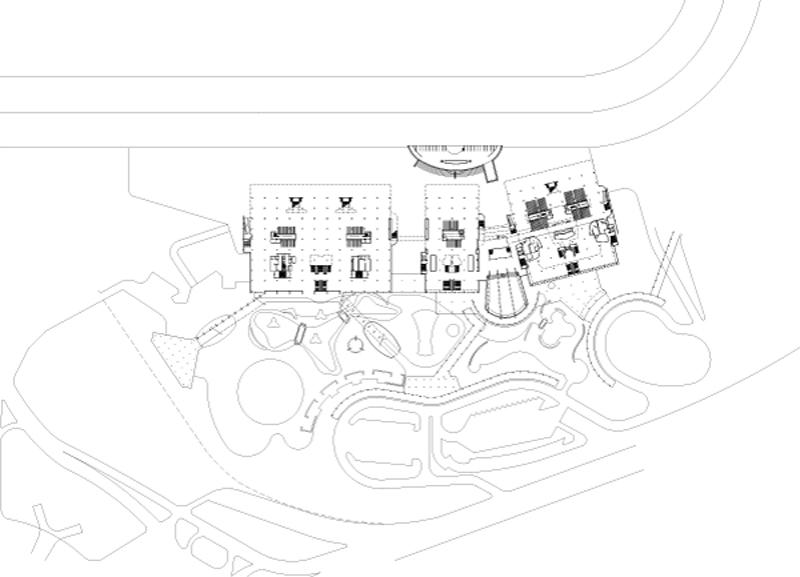 Arquitectura _la rinconada_hipódromo _planta