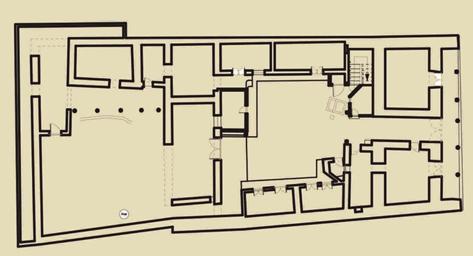 Arquitectura_ casa de las posadas _planta baja