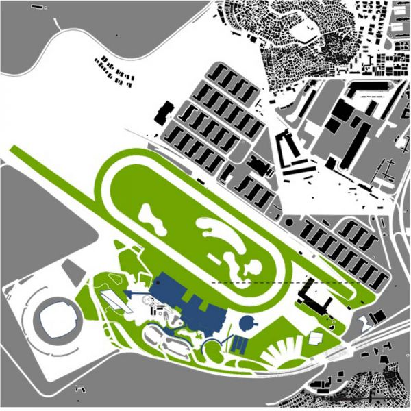 Arquitectura_la rinconada_planta de emplazamiento