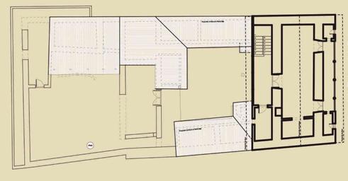 Arquitectura_ casa de las posadas planta primera