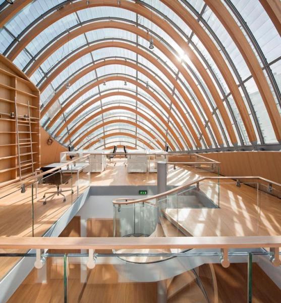 Renzo Piano Building Workshop, Fundación Jérôme Seydoux-Pathé, Paris