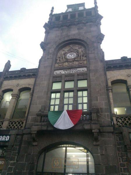 rquitectura_Antiguo_Mercado_de_la_Victoria,_Puebla,_México detalle fachada actual