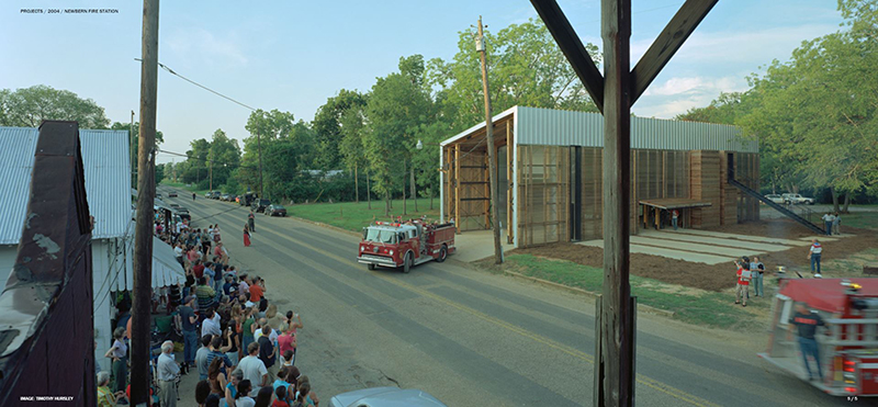 Rural Studio Arquitectura - Newbern Fire Station