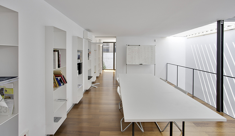 Nueva sede del estudio de arquitectura y dise o sanahuja for Programa interiorismo