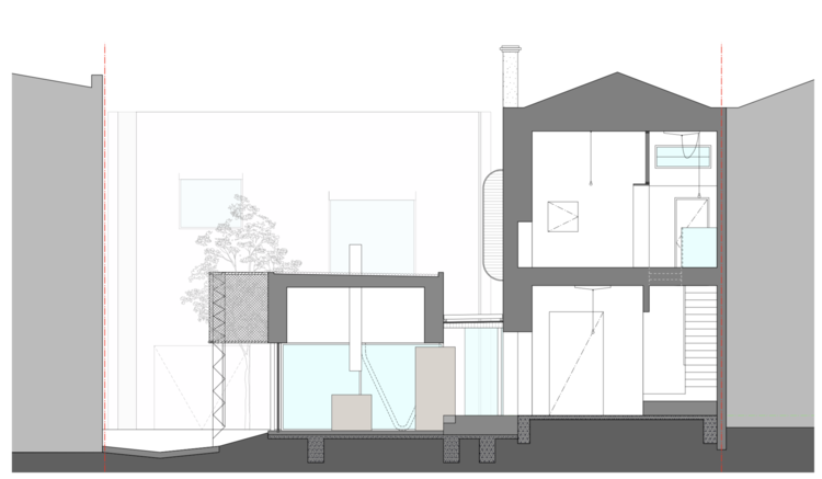 arquitectura_King_Bill_sección