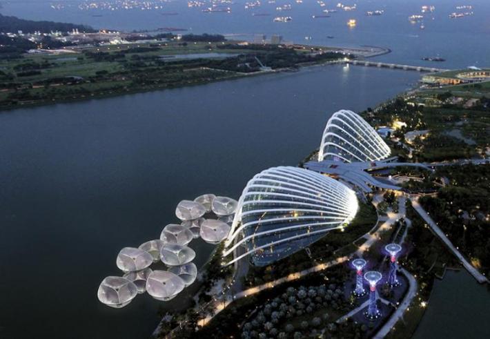 SPARK ARCHITECTS, orquídeas solares, Singapur